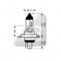 GLUHLAMPE H4  24V 75/70W